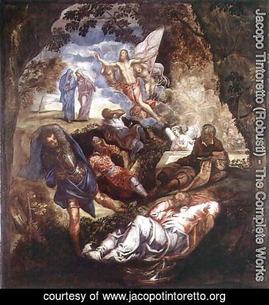 Jacopo Tintoretto (Robusti) - The Resurrection of Christ 2