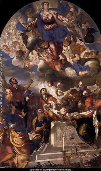 The Assumption of the Virgin, 1555