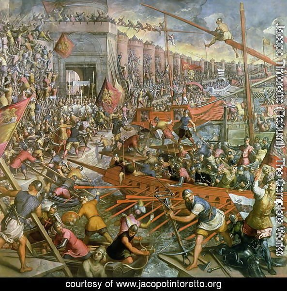 The Capture of Constantinople in 1204