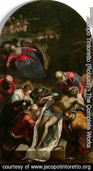Jacopo Tintoretto (Robusti) - The Deposition, c.1592-94