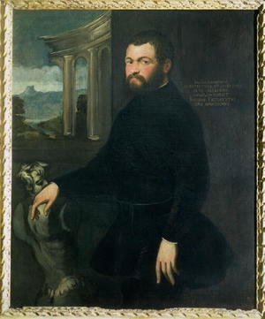 Jacopo Tintoretto (Robusti) - Jacopo Sansovino 1486-1570, originally Tatti, sculptor and State architect in Venice