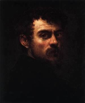 Jacopo Tintoretto (Robusti) - Self Portrait
