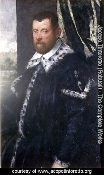 Jacopo Tintoretto (Robusti) - Battista Morosoni 1537-98, High Procurator