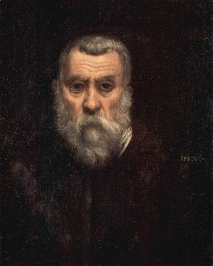 Jacopo Tintoretto (Robusti) - Self Portrait 2