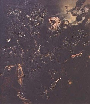 Jacopo Tintoretto (Robusti) - Christ in the Garden of Gethsemane