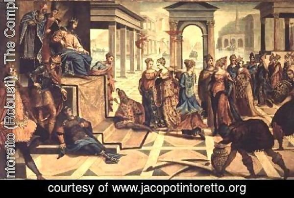 Jacopo Tintoretto (Robusti) - The Presentation of Jesus in the Temple