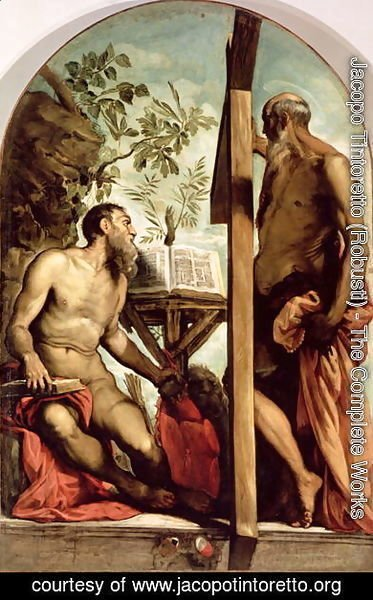 St. Andrew and St. Jerome
