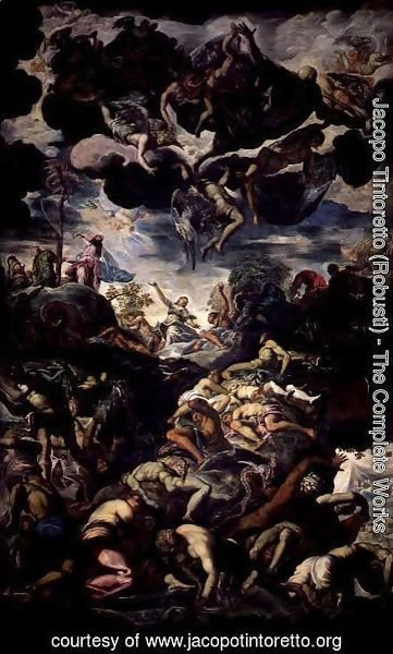 Jacopo Tintoretto (Robusti) - The Fall of Man