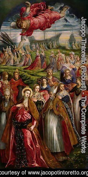 Jacopo Tintoretto (Robusti) - St. Ursula and the Eleven Thousand Virgins 2