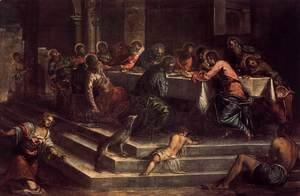 Jacopo Tintoretto (Robusti) - Last Supper 2
