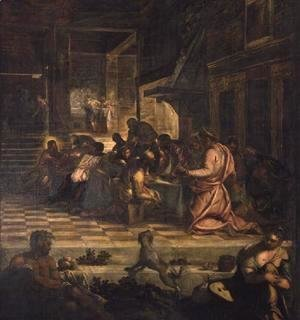 Jacopo Tintoretto (Robusti) - The Last Supper 4