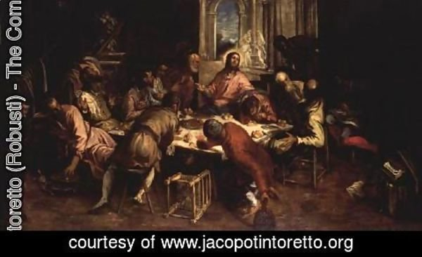Jacopo Tintoretto (Robusti) - The Last Supper 5
