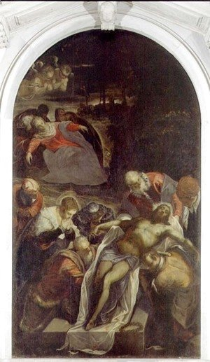 Jacopo Tintoretto (Robusti) - Deposition