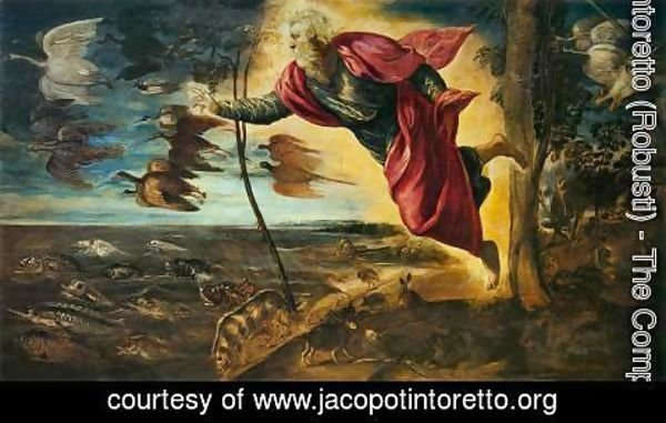 Jacopo Tintoretto (Robusti) - The Creation of the Animals