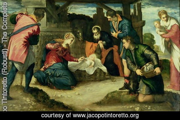 The Adoration of the Shepherds, 1540s
