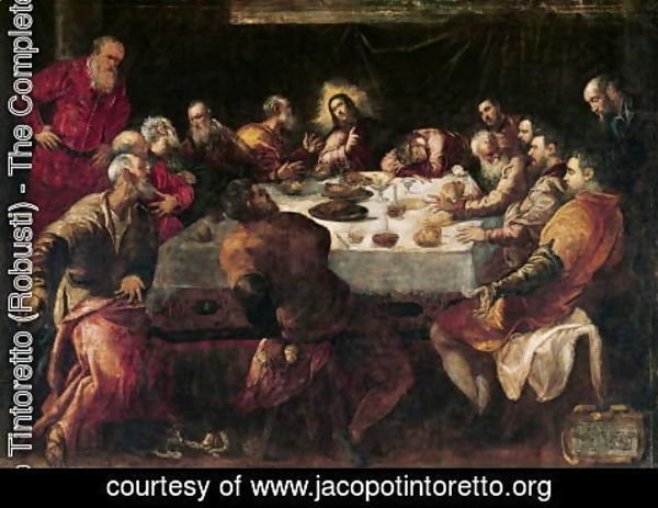 Jacopo Tintoretto (Robusti) - The Last Supper 6