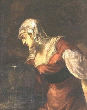 Jacopo Tintoretto (Robusti) - The Woman of Samaria at the Well, c.1560