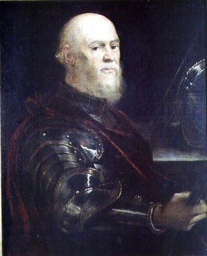Jacopo Tintoretto (Robusti) - Venetian General, 1570-75