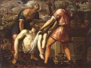 Jacopo Tintoretto (Robusti) - The Entombment of Christ