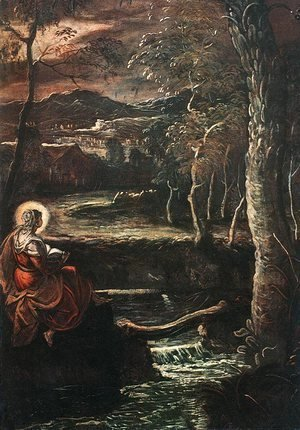Jacopo Tintoretto (Robusti) - St Mary of Egypt