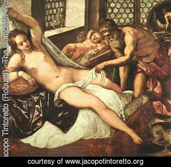 Jacopo Tintoretto (Robusti) - Venus, Vulcan and Mars