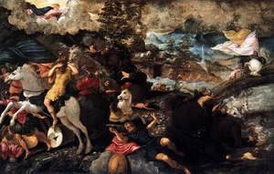 Jacopo Tintoretto (Robusti) - Conversion of Saint Paul