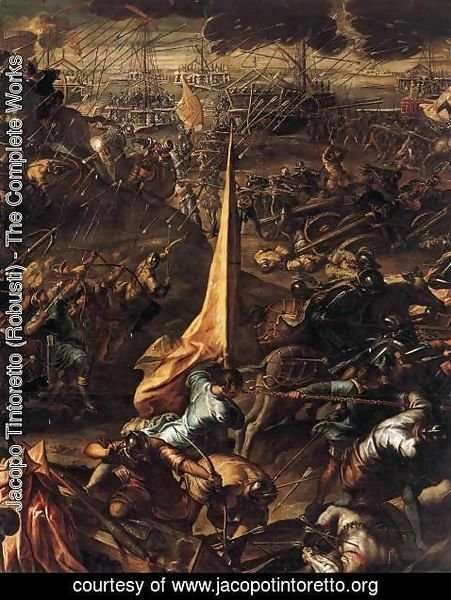 Jacopo Tintoretto (Robusti) - Conquest of Zara