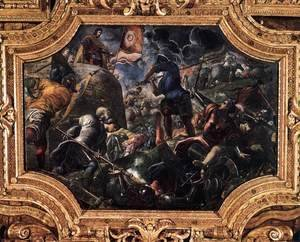 Jacopo Tintoretto (Robusti) - Defence of Brescia