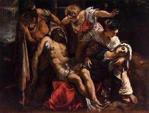 Jacopo Tintoretto (Robusti) - Lamentation over the Dead Christ