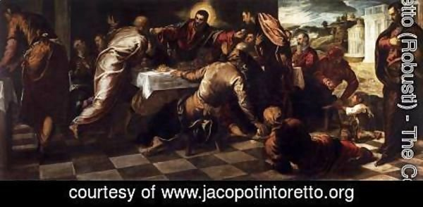 Jacopo Tintoretto (Robusti) - Last Supper 3