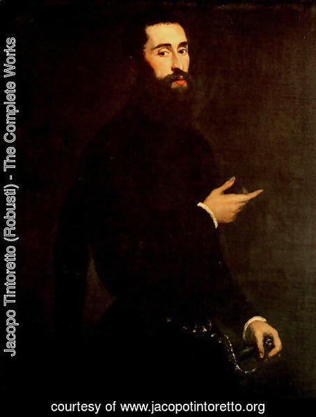 Jacopo Tintoretto (Robusti) - Portrait of a Genoese Nobleman