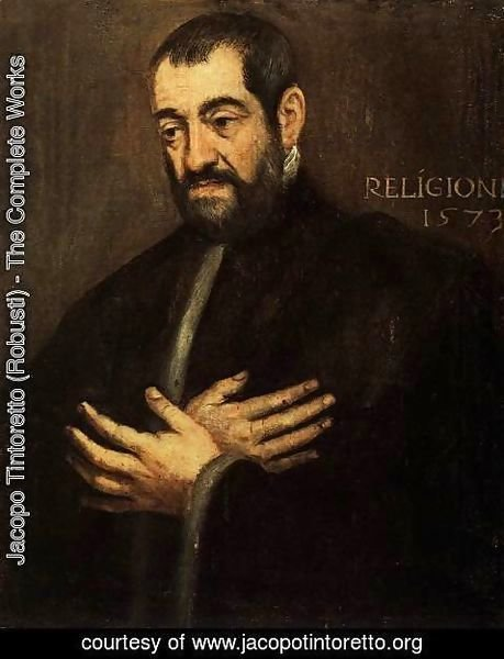 Jacopo Tintoretto (Robusti) - Portrait of a Man 2 2