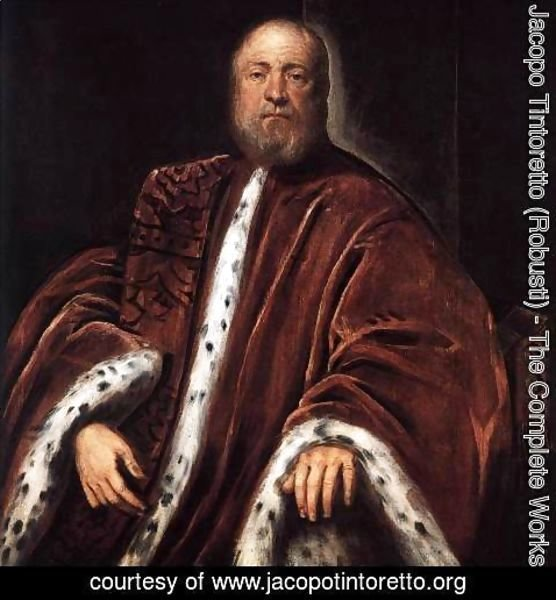 Jacopo Tintoretto (Robusti) - Portrait of a Procurator of St Mark's