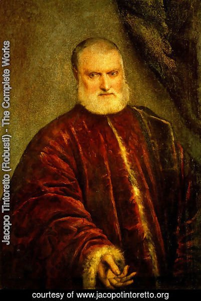 Jacopo Tintoretto (Robusti) - Portrait of Procurator Antonio Cappello