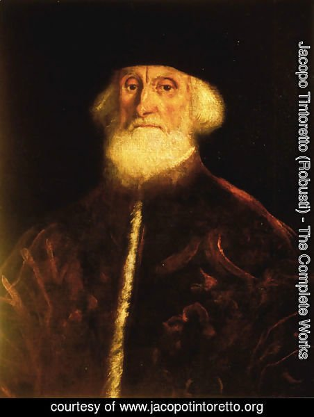 Jacopo Tintoretto (Robusti) - Portrait of Procurator Jacopo Soranzo