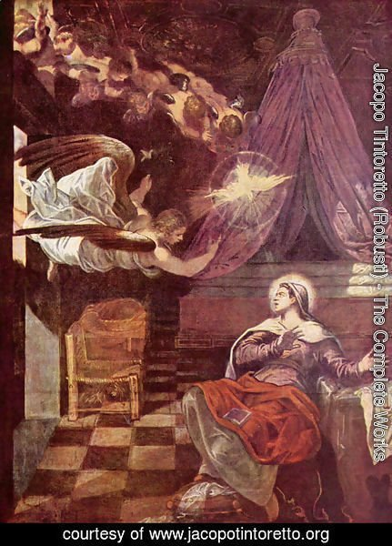 Jacopo Tintoretto (Robusti) - Proclamation