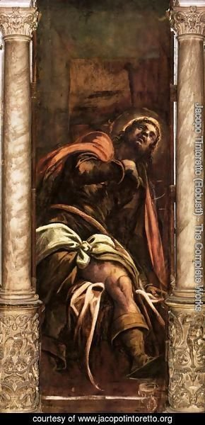 Jacopo Tintoretto (Robusti) - St Roch