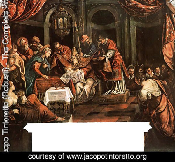Jacopo Tintoretto (Robusti) - The Circumcision
