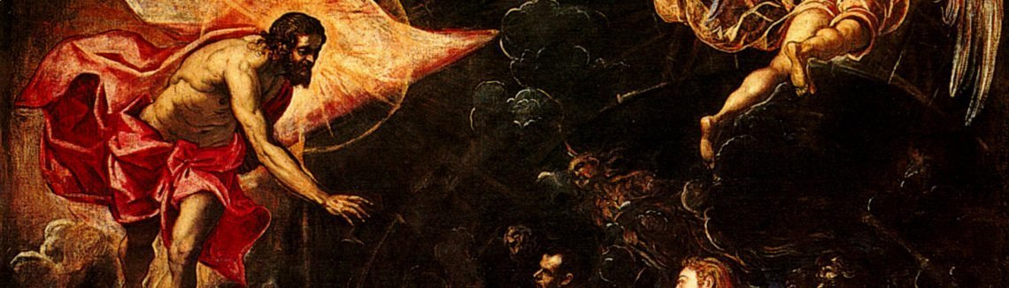 Jacopo Tintoretto (Robusti) - The Descent into Hell