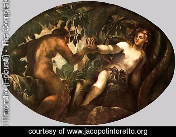 Jacopo Tintoretto (Robusti) - The Fall of Man 2