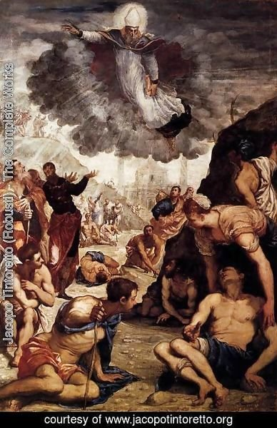 Jacopo Tintoretto (Robusti) - The Miracle of St Augustine