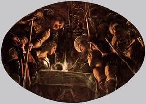 Jacopo Tintoretto (Robusti) - The Passover