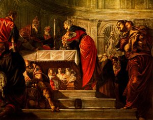 Jacopo Tintoretto (Robusti) - The Presentation of Christ in the Temple