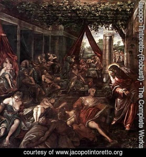 Jacopo Tintoretto (Robusti) - The Probatic Pool