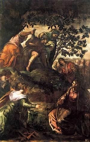 Jacopo Tintoretto (Robusti) - The Raising of Lazarus