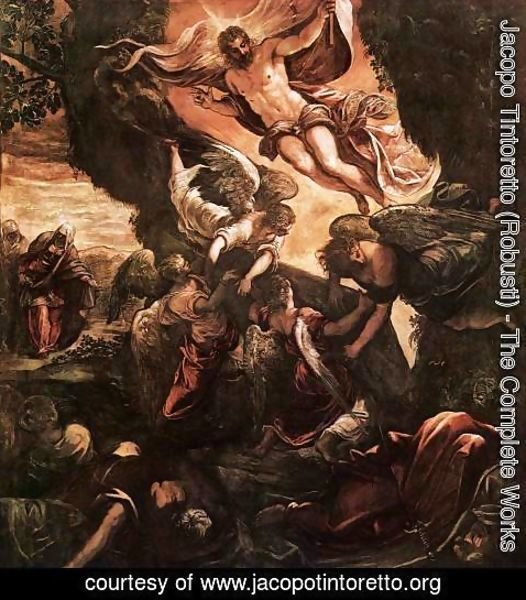 Jacopo Tintoretto (Robusti) - The Resurrection of Christ 2 2