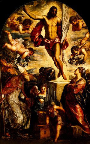 Jacopo Tintoretto (Robusti) - The Resurrection of Christ 3