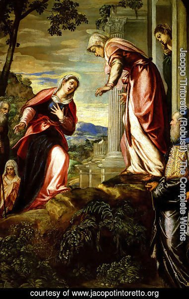 Jacopo Tintoretto (Robusti) - The Visitation 1