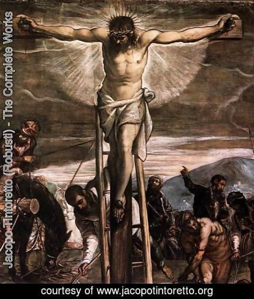 Jacopo Tintoretto (Robusti) - Crucifixion (detail 2)