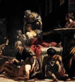 Jacopo Tintoretto (Robusti) - St Roch in the Hospital (detail 3)